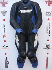 Arlen Ness 5908 Black/white/blue One Piece race leathers with hump uk 42 euro 52