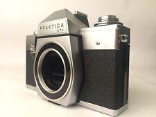 Praktica LTL Camera Body With Pentacon Case. Good Condition. Free Shipping. LR