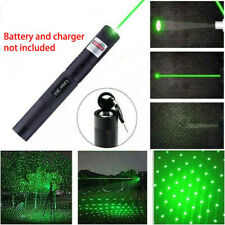 532nm Green Laser Pointer Pen Astronomy Visible Beam Lazer No Battery Charger