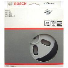 Bosch doux de ponçage base support plaque PEX 15 420 GEX 150 AC 2608601051