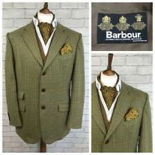 "Mens BARBOUR Merino 2 Ply Tweed Sports Shooting Hacking Jacket Blazer 44""R C4224"