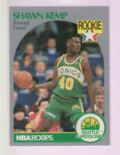 1990-91 Hoops Basketball Shawn Kemp #279 RC Seattle Supersonics NM Rookie