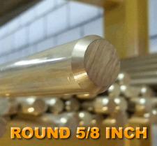 Brass Rod 5/8 Inch Round FREE CUTTING BRASS ALLOY C385 PER 1 METRE LENGTHS