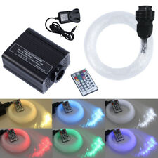 16W RGBW LED Plastic Fiber Optic Light Star Ceiling Kit Lights with RF Remote UK