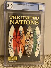 Classics Illustrated Special NN The United Nations CGC 8.0 (scarce)