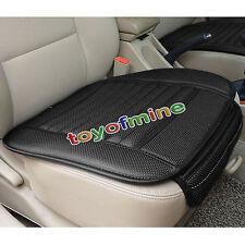Universal PU siège de voiture en cuir couvre pour Office Car Auto chaises Noir