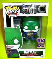 Batman Dc Joker Shirt Figure #188 Suicide Squad Funko Pop Convention Exclusive