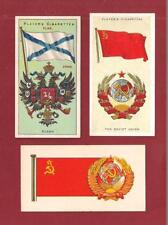 Flag of RUSSIA The Soviet Union USSR Andreevsky Flag 1905 1938 1967 vintage card