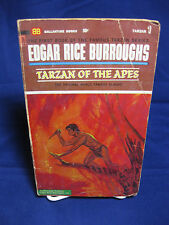 Tarzan of the Apes Ballantine books U2001 1966 paperback  #1