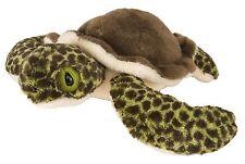 "Wild Republic BABY GREEN SEA TURTLE 8"" Plush Cuddlekins Stuffed Animal NEW"