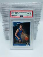 2018-19 Panini Donruss Optic Luka Doncic PSA 10 Gem Mint #177 Rookie RC