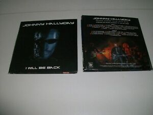 JOHNNY HALLYDAY RARE 2 CD I WILL BE BACK EXCELLENT ETAT