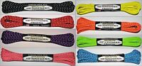 """3/32"""" Reflective Tactical Cord 4 Strand Paracord 275 Pound Test MADE IN THE USA"""