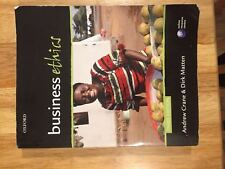 Business Ethics by Andrew Crane and Dirk Matten (Third Edition)