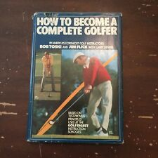 1978 How To Become A Better Golfer by Bob Toski Jim Flick Larry Dennis Signed