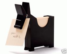 Morris Memo Notes Pencil Holder Black Home Desk Gift Monkey Business (charcoal)