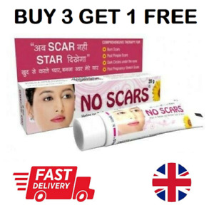 No Scars Skin Care Cream Reduce And Remove Scars & Marks 20g 🇬🇧 Seller
