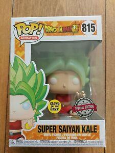 Funko Pop! Super Saiyan Kale #815 Glow Dragon Ball Z Pop! Animation Special GITD