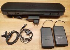 Shure PG188 Dual Wireless Lavalier Set, T10 854-865 MHz band, /w PG185 lavs