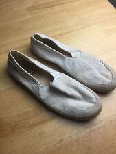 UGG white slip on flat shoes size 8