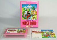 Super Mario USA Nintendo Famicom Complete CIB Authentic GREAT Condition! NICE!