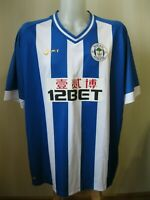 Wigan Athletic 2013/2014 Home Sz 4XL Mi-fit shirt jersey maillot soccer football