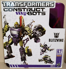 Transformers Construct Bots Blitzwing & Hound lot of 2! 100% Complete!!!