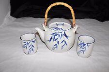 Asian Porcelain Hand Painted Tea Pot Set
