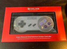 Nintendo Switch Online SNES Super Nintendo Controller Wireless Bluetooth NEW NIB