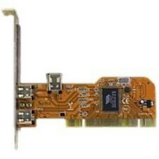 uPCI Firewire IEEE 1394a Host Controller Card (2+Mini-Ext, 1-Int. Ports) & Cable