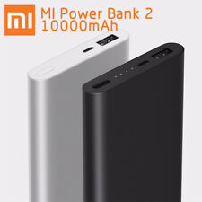 Xiaomi Mi Power Bank 2 10000mAh Fast Charge External USB Battery Charger Genuine