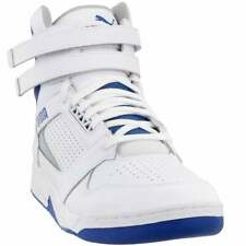Puma Palace Guard Mid Athletic Sneakers Casual    - White - Mens