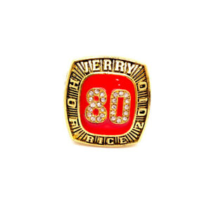 2010 JERRY RICE San Francisco 49ers NFL Championship rings