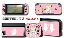 Sailor moon Anime Manga Skin Aufkleber Stickers +Schutzfolie Für Nintendo Switch