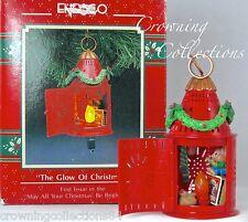 Enesco Mice The Glow of Christmas Treasury of Ornament Lantern May All be Bright