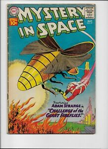 DC Comics - MYSTERY IN SPACE - #67 May 1961  ADAM STRANGE