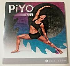 PiYo Live Round 35 Motivational Workout Dvd w/ Audio Cd & Inserts