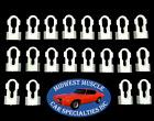 20 NOSR GM Chevy Oldsmobile Vinyl Top Body Side Molding Moulding Trim Clips BO