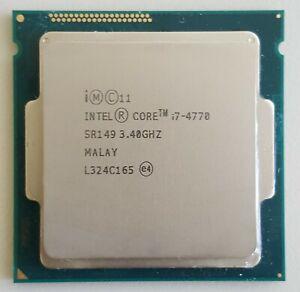 INTEL CORE i7-4770 3.40GHz SR149 4 CORE PROCESSORE CPU SOCKET 1150/H3/LGA1150