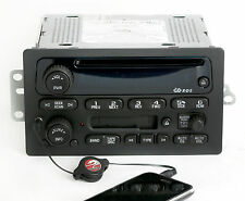 Chevy GMC 2005-2009 Truck Van Radio AM FM CD Cassette w Auxiliary Input 15849619