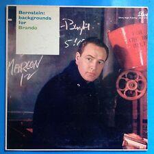Bernstein: Backgrounds For Brando-1958 Dot Mono-DG-VG++/M-  UNPLAYED