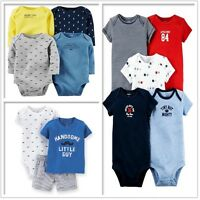 New Carter's Baby Boys 3 4 5 piece cotton Clothes Set outfits newborn - 24M