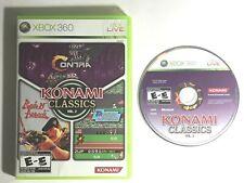 Konami Classics: Vol. 2 (Microsoft Xbox 360, 2009) Works Great Ships Fast
