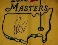 PATRICK REED AUTOGRAPHED SIGNED 2018 MASTERS PIN FLAG GOLF PGA TOUR JSA V35276