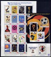 Japan 2010 Fußball WM Soccer FIFA World Cup Südafrika 5278-5294 + Block 212 MNH