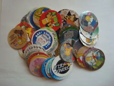 MEXICO - TAZOS ( POGS) - SABRITAS - THE SIMPSONS - LOT OF 30 DIFFERENTS