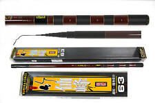 21ft/6.3M Telescopic Fishing Pole Rod Carbon Fiber