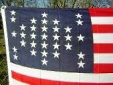 3x5 ft 33 STAR FORT SUMTER UNION CIVIL WAR FLAG 1859-1861 Print Polyester Flag