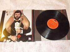 "RINGO STARR ""THE 4th"" LP POLYDOR 1977 Ita BEATLES"