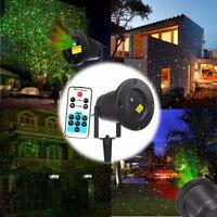 Outdoor Lighting R&G Laser Projector Xmas Garden House Lawn Light Waterproof